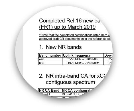 RAN4 bands r16